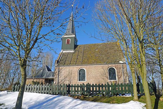Nederland - Kerkje Eenigenburg