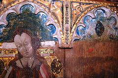 Detail of Screen, Bramfield Church, Suffolk