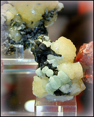 Stellerite-Epidote et Prehnite