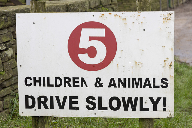 Whirlow Hall Farm sign