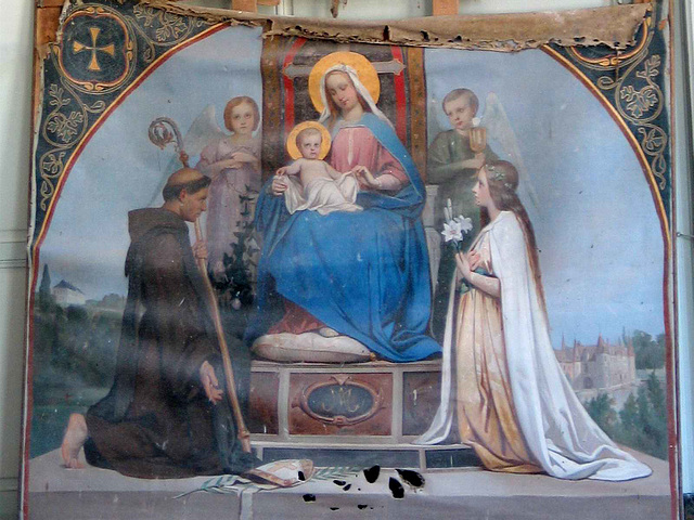 IMG 5074bc Villarceaux Domain Madonna to be Restored