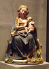 Enthroned Virgin with Nursing Child in the Metropolitan Museum of Art, January 2013