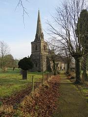 fenny bentley church, derbyshire (1)