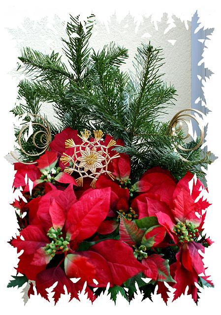 Advent-Strauß. ©UdoSm