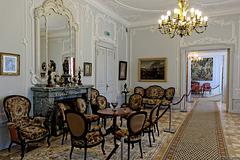 im Schloss des Grafen Feliks Tyszkiewicz in Palanga (© Buelipix)