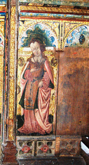 Detail of Screen, Bramfield Church, Suffolk