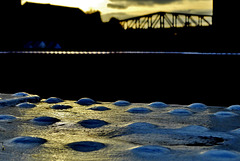 A Wee Teaser Of The Swingbridge. Newcastle