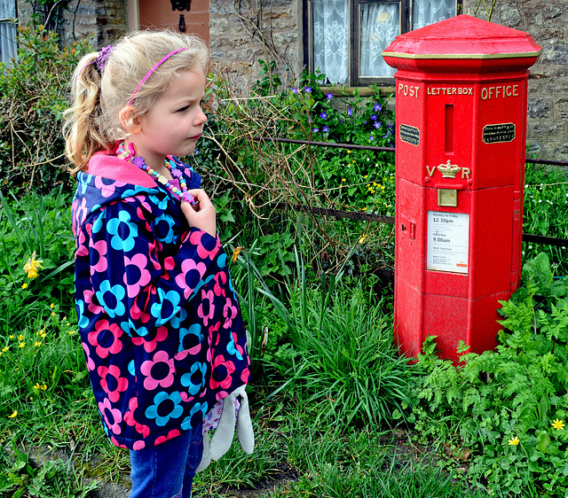 Oldest Post Box ~ Holwell