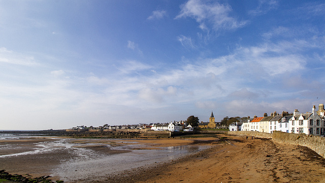 Anstruther at Low Tide
