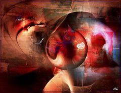 Dans le bonheur ou la souffrance Aimer C'est notre marque de puissance Créer