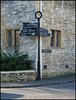 Church Lane signpost