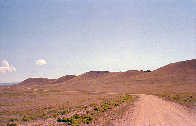 Road near Antero Reservoir