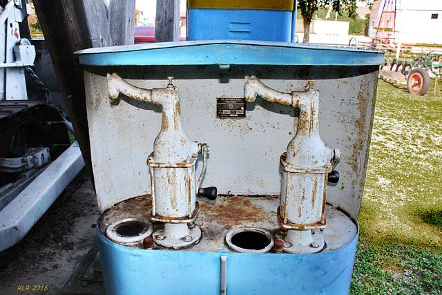 Alte Tankstellentechnik