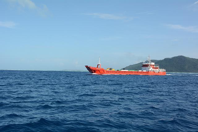 Polynésie Française, Tahiti Nui VIII between Taha'a and Bora Bora