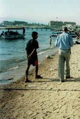 Urban beach of Aqaba.