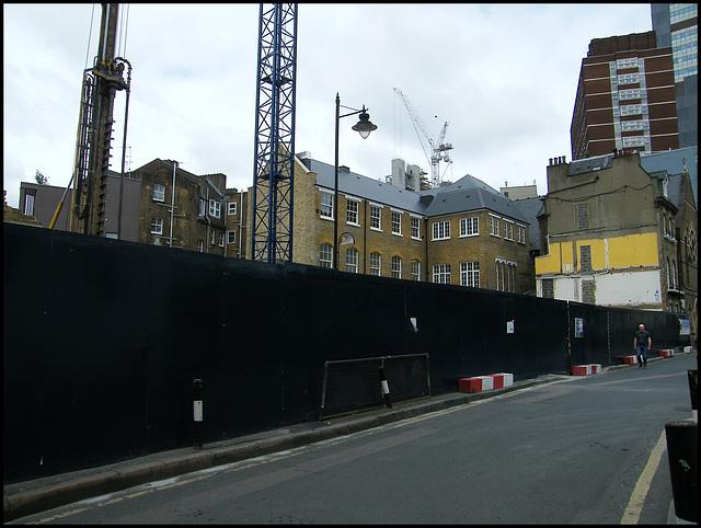 Melior Street construction site