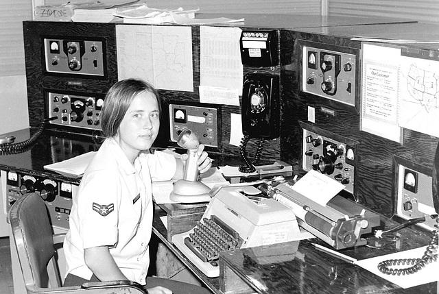 Bergstrom AFB MARS radio station