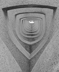 Panmure Passage.  Sculptor: Marion Smith