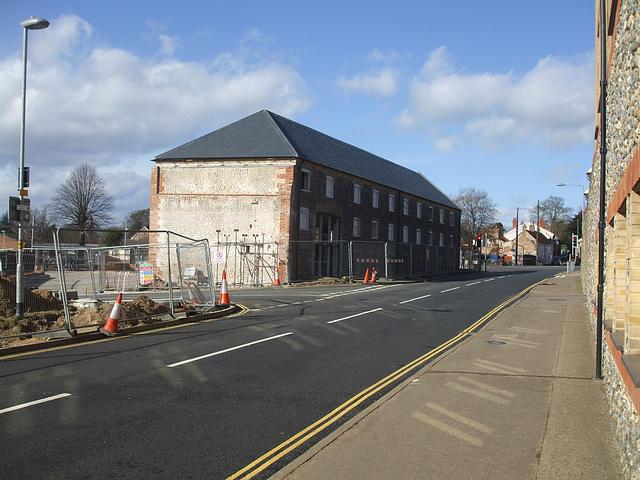 Thetford's new bus station - photo 1