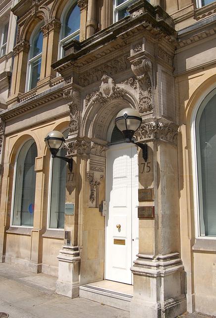 Doorcase, No.75, Colemore Row, Birmingham