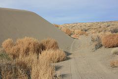 The sand cometh...