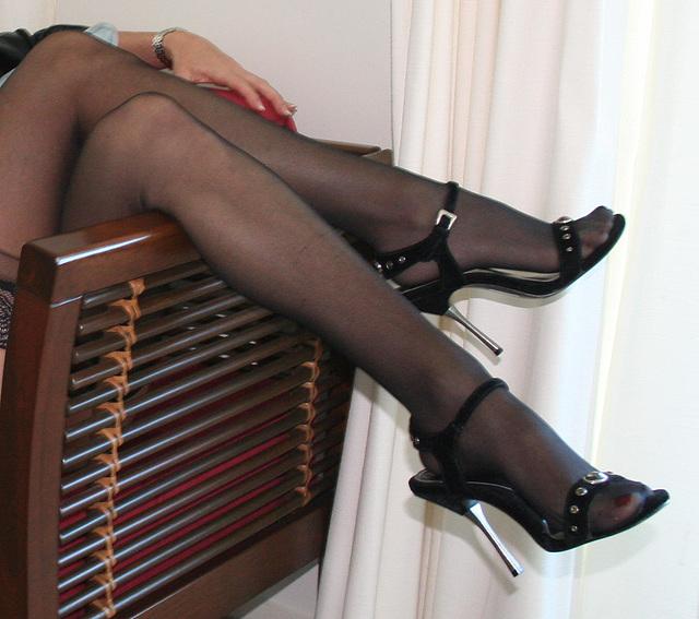 Jan / Open toe high-heeled sandals
