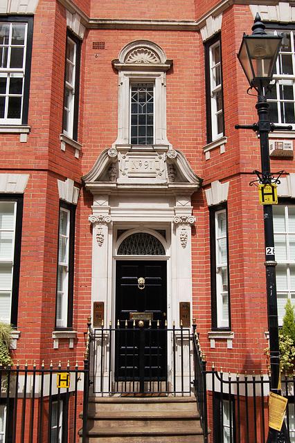Doorcase, No.91 Cornwall Street,  Birmingham