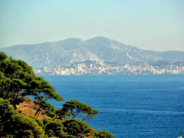 Marseille vu de Niolon