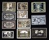 Group 026 B - Notgeld collage 1918 - C1920s