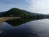 View on Rursee germany