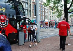 Amsterdam a la mexicana roja