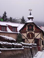 Winter in Gernrode im Harz