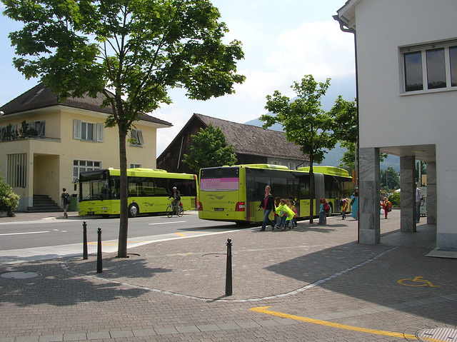 DSCN1909 Liechtenstein Bus Anstalt FL 22012 and FL 2139 (operated by Ivo Matt A.G.)