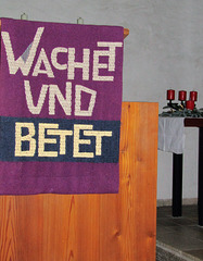 wachet und betet