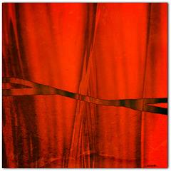 ...drapes...