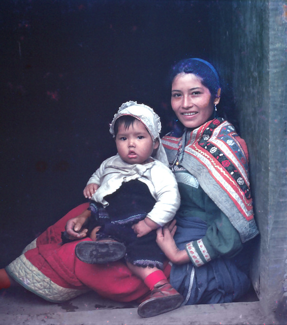 Mother and child - Perú