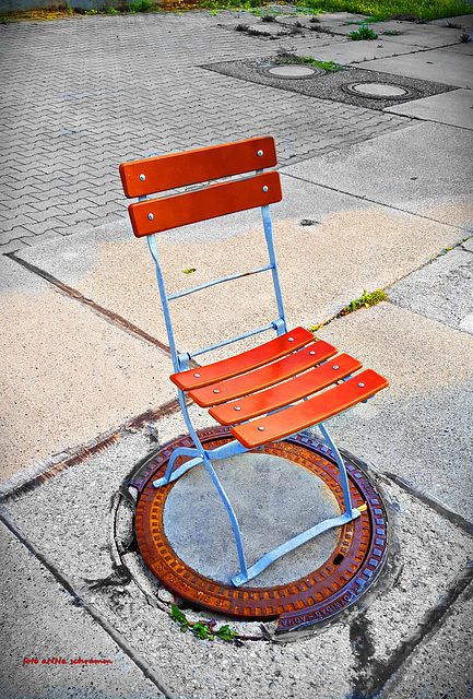 Der Gulli-Stuhl