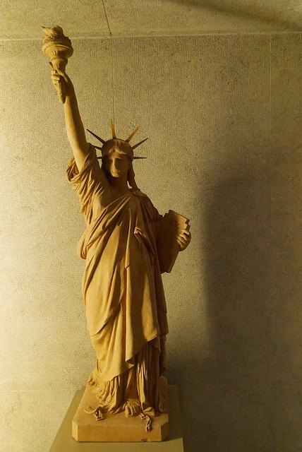 """""""La Liberté éclairant le monde"""" (Auguste Bartholdi)"""