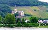 DE - Bad Breisig - View across the Rhine towards Schloss Arenfels