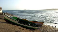 Fischerboote in Sal Rei