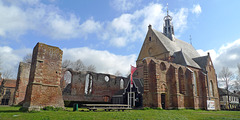 Nederland - Bergen, Ruïnekerk