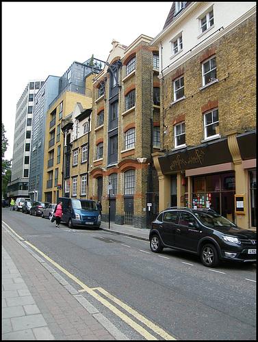 up Weston Street