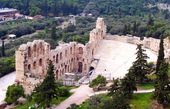 GR - Athens - Odeon Herodes Atticus