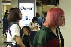 Le métro, à Osaka (Kansaï, Japon)