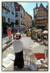 Rothenburg ob der Tauber - Plönlein