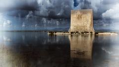 SANTAPOLA-Alicante-Espagne les salins et la réserve aux oiseaux