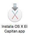 OS-X 10.11 - the installer