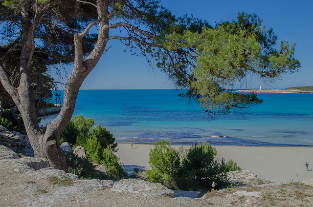 Rendez-vous ce matin avec le bleu de la mer et du ciel.
