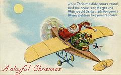 Santa's Joyful Airplane