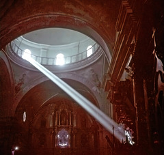 The holy ray of light... Church in Cusco